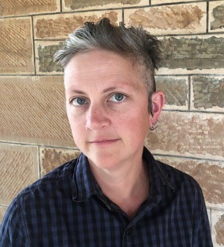 Australian writer Jennifer Mills, author of Dyschronia