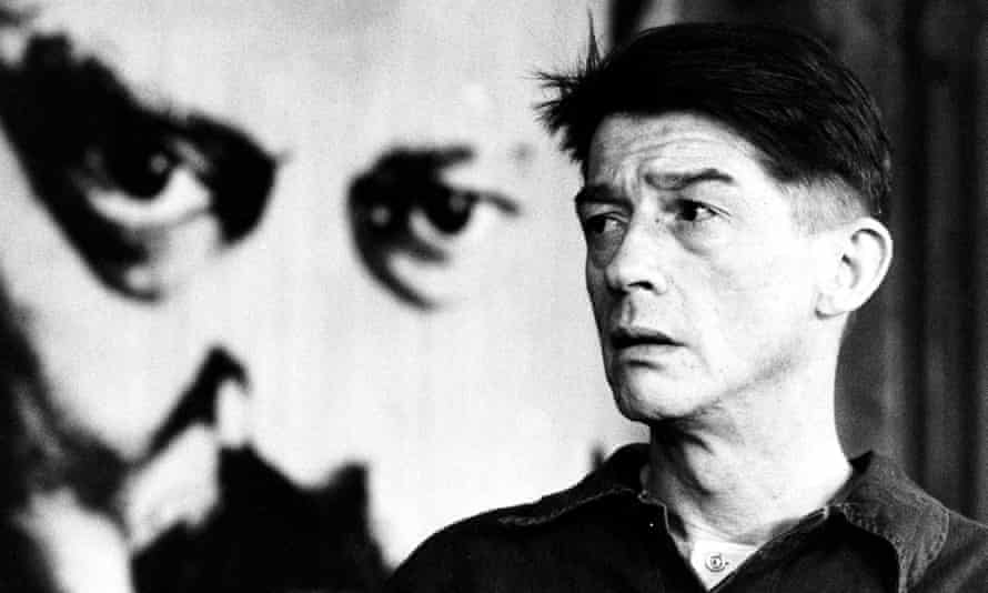 John Hurt as Winston Smith in George Orwell's Nineteen Eighty-Four.