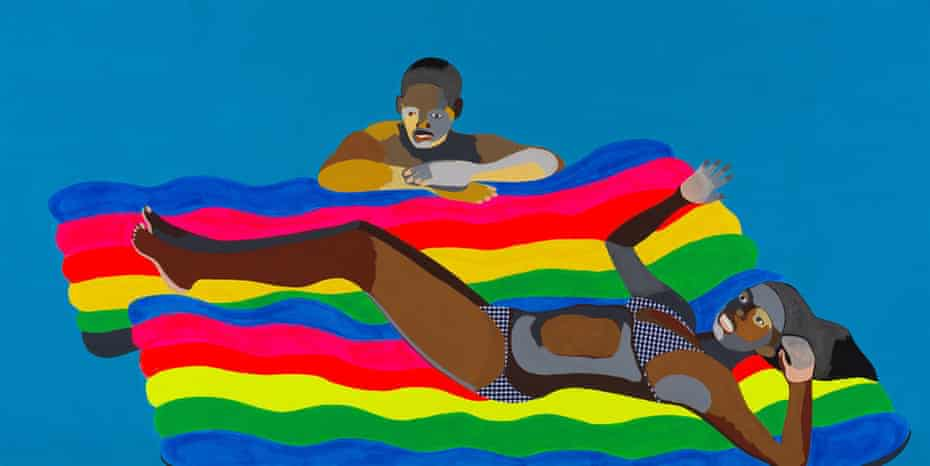 Derrick Adams – America's Playground.