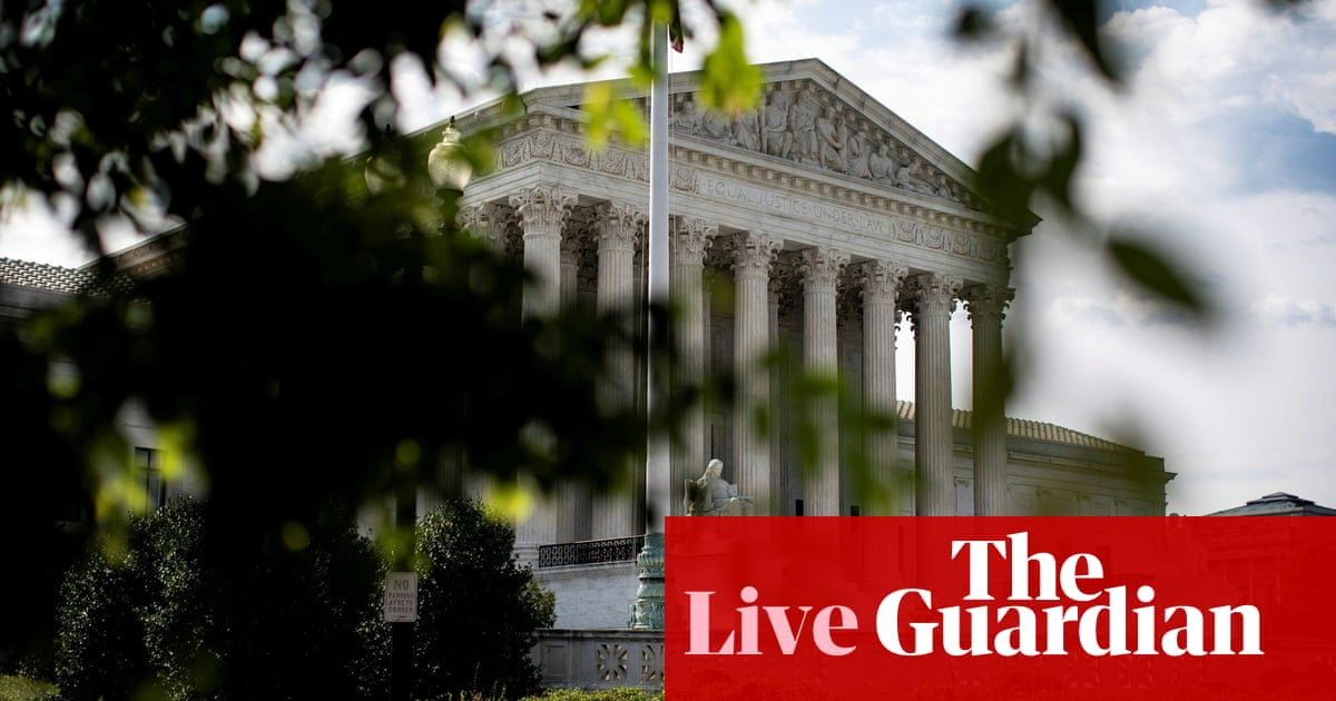 Supreme court strikes down abortion restriction in major victory for campaigners – live