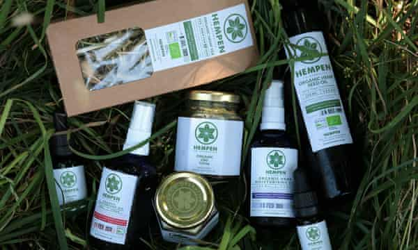 Samples of Hempen products.