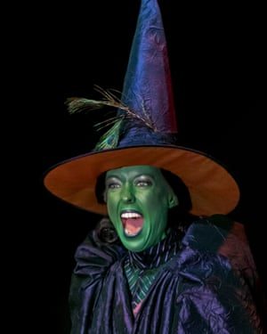 Giving good cackle … Catrin Aaron as the Wicked Witch of the West.