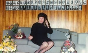 Joan Kirner on 9 August 1990 – her first day as premier.