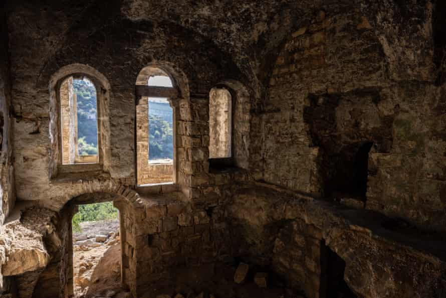 One of the 77 buildings still standing in Lifta after the destruction of more than 200.