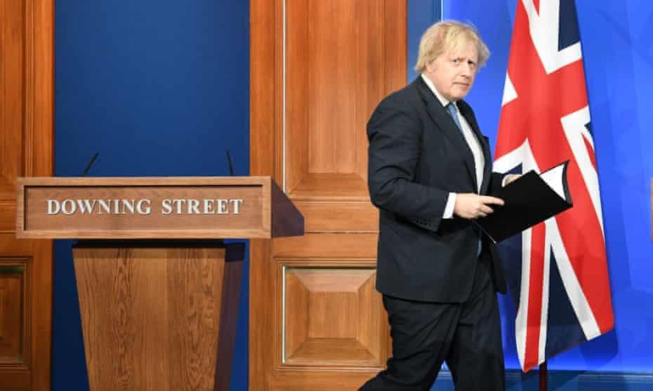 Boris Johnson Provides Update On Covid 19 Lockdown Easing, 5 April 2021