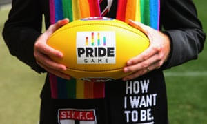 St Kilda play the Sydney Swans in the AFL's inaugural Pride game at the weekend.