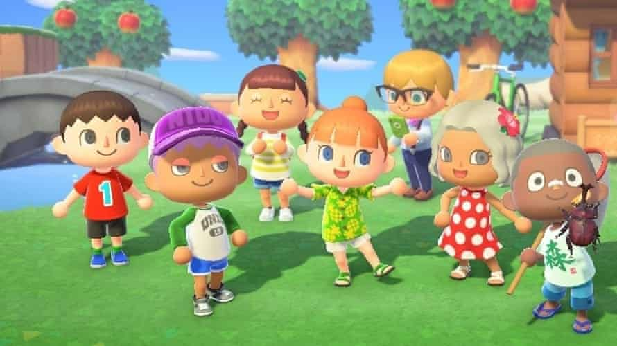 Animal Crossing: New Horizons: a simulation game for Nintendo Switch