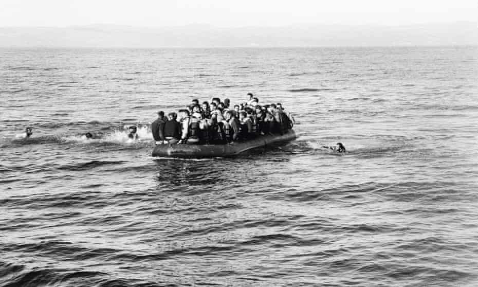 An image from Giles Duley's book I Can Only Tell You What My Eyes See: Photographs from the Refugee Crisis.