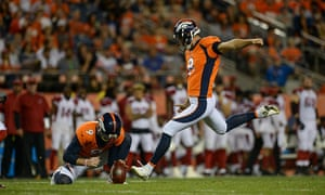 The Denver Broncos in action at Sports Authority Field, Denver, Colorado, US.