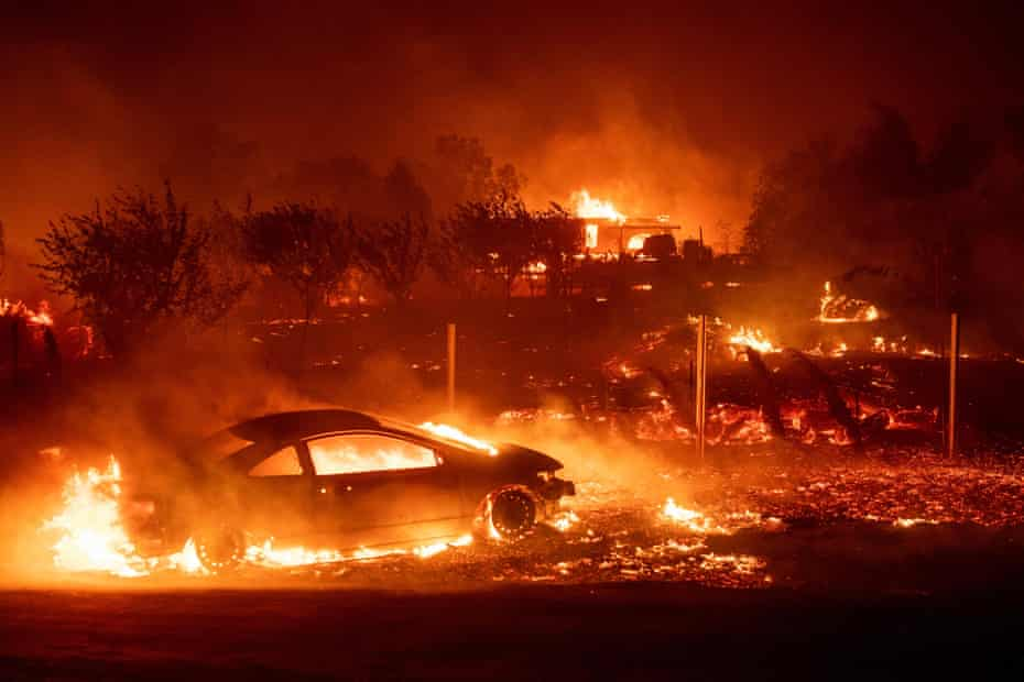 The fire in Paradise, California, killed 86 people.