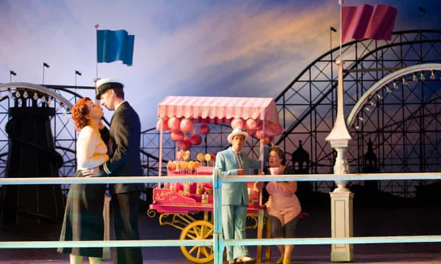 Phelim McDermott's fairground-set production of Cosi for English National Opera.