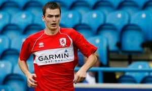 Adam Johnson in action for Middlesbrough