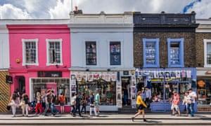 Notting Hill, shops in Pembridge roadGettyImages-486555471