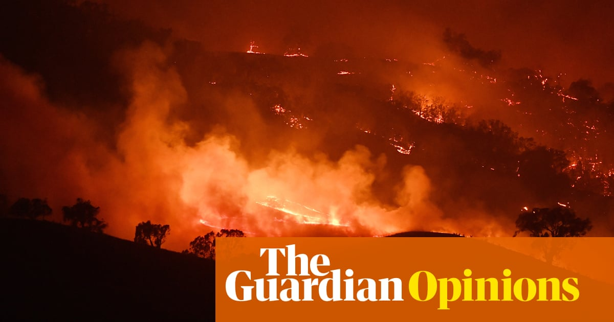 Scott Morrison can't afford to waste the bushfire crisis when Australia urgently needs its own green new deal