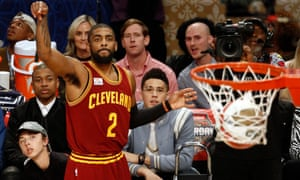Kyrie Irving and NBA commissioner Adam Silver both attended Duke