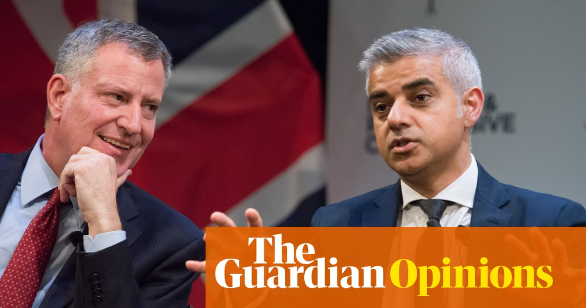 As New York and London mayors, we call on all cities to divest from fossil fuels | Bill de Blasio and Sadiq Khan