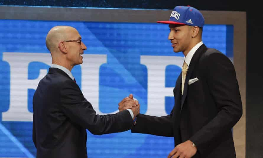 Ben Simmons announced as No1 draft pick