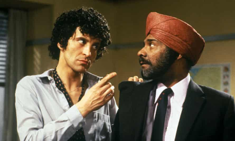 ITV ArchiveNo Merchandising. Editorial Use Only Mandatory Credit: Photo by ITV/REX/Shutterstock (751953jz) 'Mind Your Language' - Geoirge Camiller as Giovanni Cupello with Albert Moses as Ranjeet Singh ITV Archive