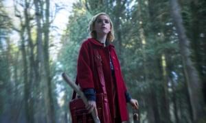 Kiernan Shipka in Netflix's Chilling Adventures of Sabrina.