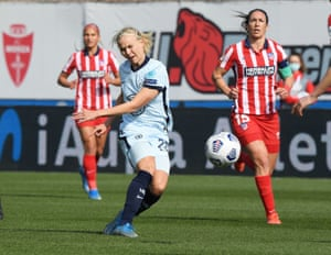 Chelsea's Pernille Harder in action.