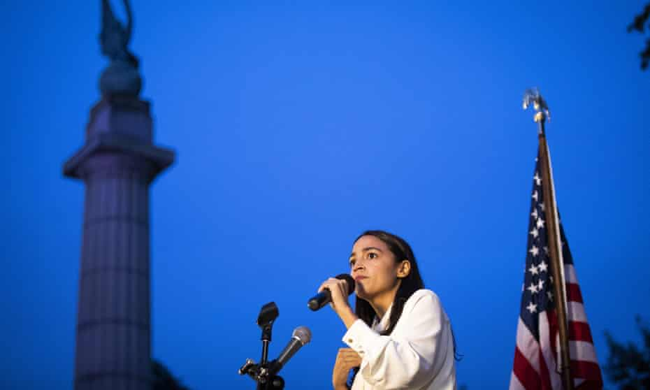 Congresswoman Alexandria Ocasio-Cortez, a democratic socialist has emboldened the movement.