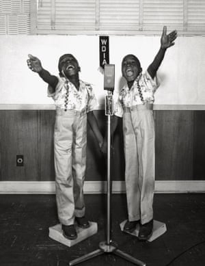 The WDIA Twins, ca. 1948