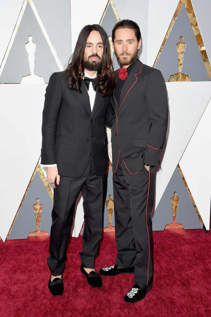 Jared Leto and Alessandro Michele.