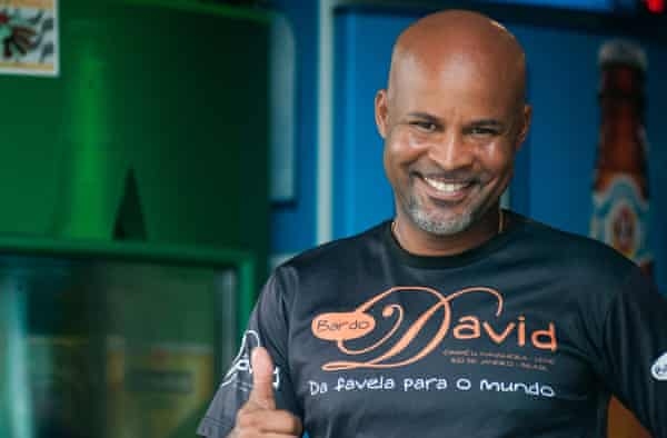 Bar owner David Bispo
