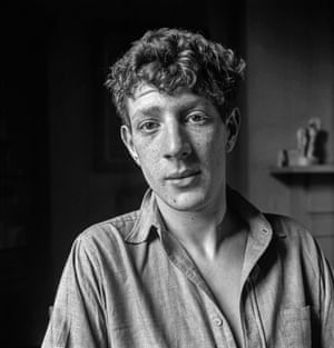 Jonathan Miller, 1954 This portrait was taken at the Observer office in Tudor St while Miller was an undergraduate medical student at Cambridge. Miller had gained notoriety for his role in the Footlights Revue