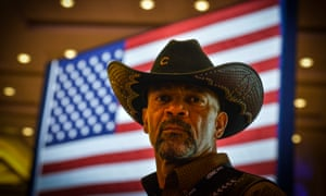 David Clarke Jr, sheriff of Milwaukee County, Wisconsin, is a self-described 'Trumpster' who was in the running to be homeland security secretary.