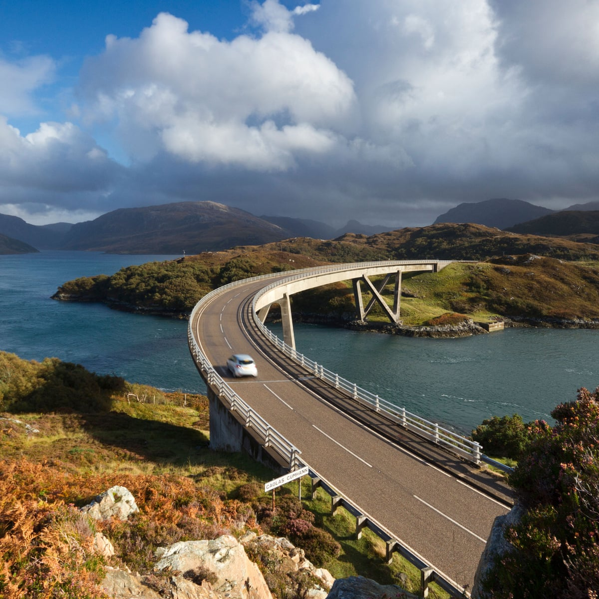 Speeding, congestion and protest: the dark side of Scotland's North Coast  500 route   Travel   The Guardian