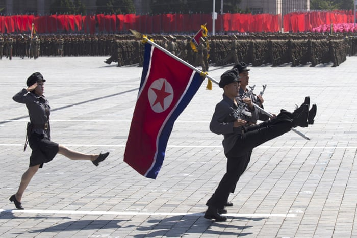 North Korean 70th anniversary parade – in pictures   World news
