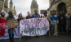 """Campaigns including Rhodes Must Fall argued that only by challenging some of their own traditional assumptions could universities be truly inclusive."""