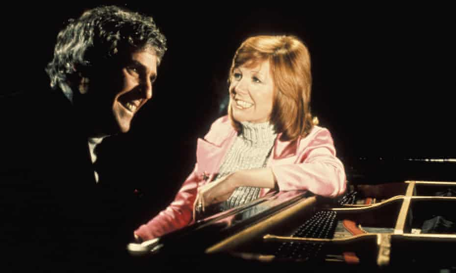 Bacharach with Cilla Black in the mid-1970s.