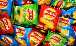 Walkers produces 11m crisp packets a day at its Leicester factory.