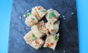 The perfect crispy fried tofu.