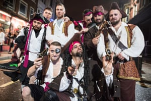 Perhaps these pirates came ashore at Wigan Pier