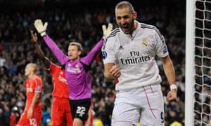 Real Madrid v Liverpool