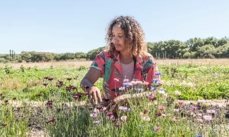 Sinead Fenton, Ecological & Regenerative Farmer at Aweside Farm in Arlington, East Sussex