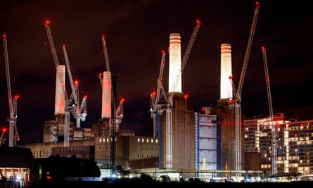 The Carillion-developed Battersea Power Station in south London.