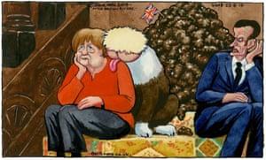 Steve Bell on Boris Johnson's Brexit meetings with Merkel ...
