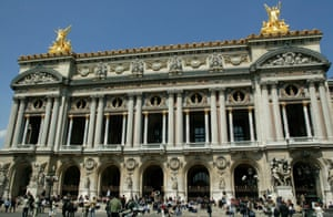 The Palais Garnier was built on the orders of Napoléon III as part of Haussmann's grand reconstruction project.