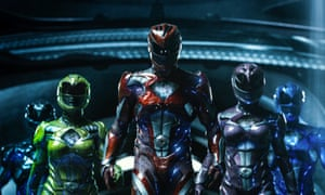 'Power Rangers unquestionably follows the Marvel route to success: using just the right amount of self-reflexive smarts and crackling badinage to paper over the high-octane silliness'