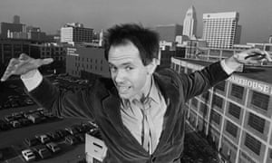 Peter Ivers poses on the roof of his apartment in 1981.