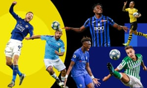 Jamie Vardy, Sergio Agüero, Duván Zapata, Paco Alcácer, Loren Morón and Tammy Abraham have started the season in style.
