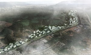 Artist's impression of the Liuzhou Forest City.
