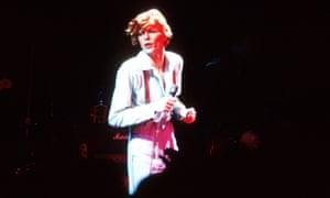 David Bowie, circa 1974.