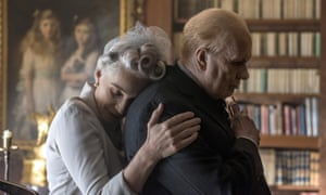 Kristin Scott Thomas and Gary Oldman as Clementine and Winston Churchill in Darkest Hour.