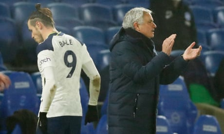 'We can't speak about an injury': Mourinho 'surprised' Bale missed Everton tie – video