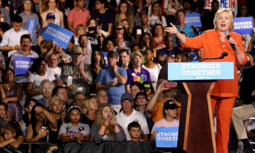 Seddique Mateen at Hillary Clinton rally